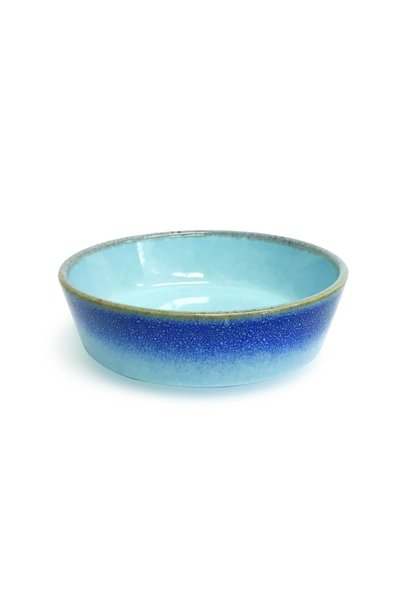 PIONEER Ceramic Bowl-Blue Reactive SM