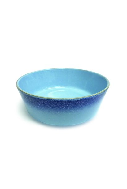 PIONEER Ceramic Bowl-Blue Reactive LG (2)