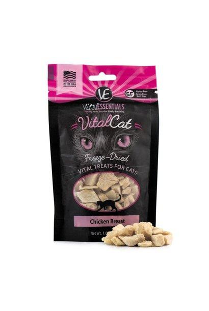 VE VitalCat Chicken Breast FDTreats 1 oz