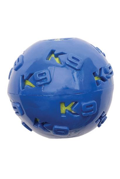 K9 Fitness by Zeus TPR Ball Encasing Tennis Ball - 7.62 cm dia. (3 in dia.)