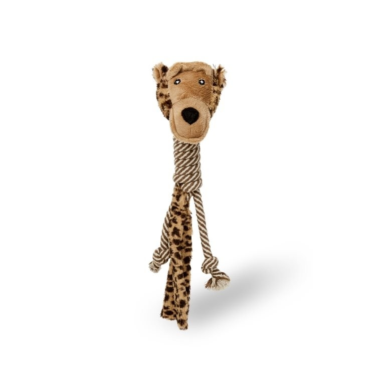 Bud'z Dog Toy-Cotton Long Neck Monkey-1