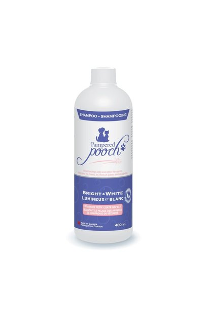 Pampered Pooch Bright & White Shampoo 400ml