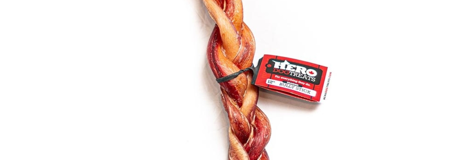 Bully Stick Braided 12in