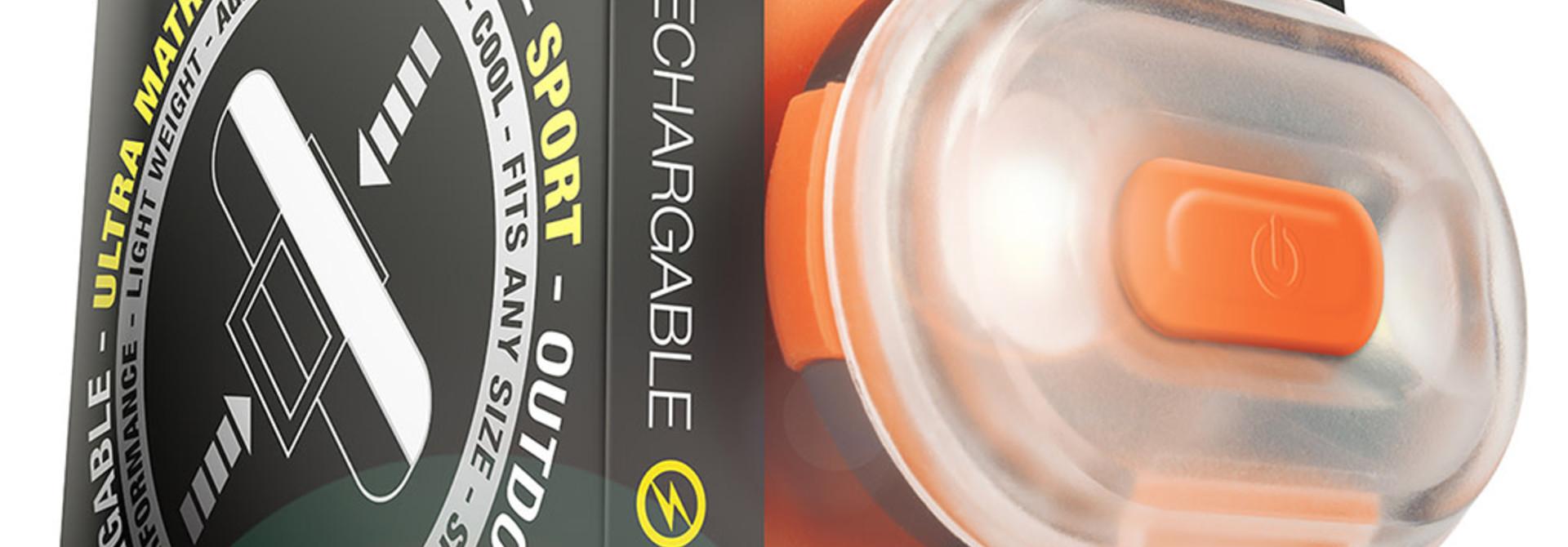 Matrix Ultra LED Safety Light Orange Cube Pack