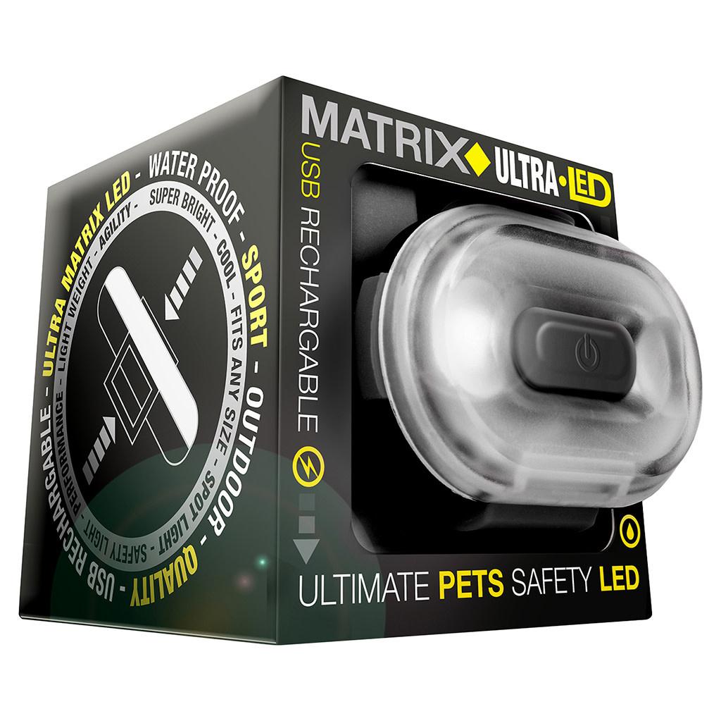 Matrix Ultra LED Safety Light Black Cube Pack-2