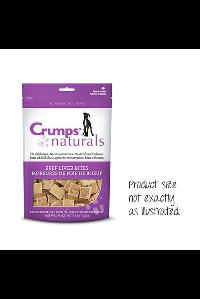Crumps' Naturals Beef Liver Bites 2.3oz