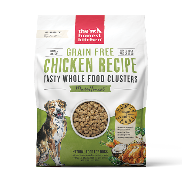 Grain Free Whole Food Clusters-Chicken 9.07kg (20lb)-1