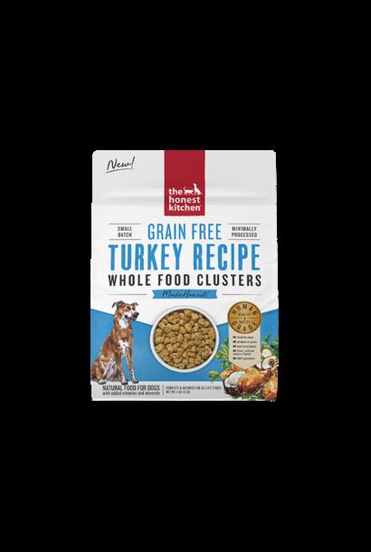 Grain Free Whole Food Clusters-Turkey Trial 1lb