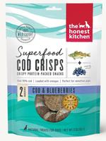 Honest Kitchen Superfood Cod Crisps w/ Blueberry
