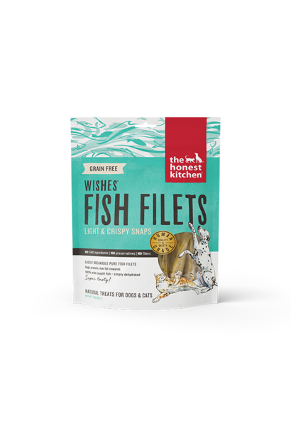 Wishes Whitefish Fillet Treat Pouch 3oz