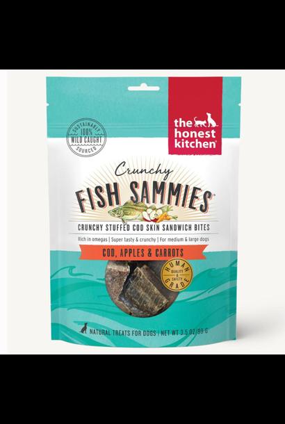 Crunchy Fish Sammies Cod w/Carrots & Apples 3.5oz