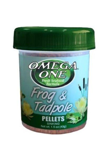 Frog and Tadpole pellets 1.2oz