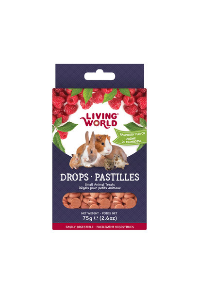 LW Small Animal Drops, Raspberry, 75g