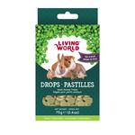 Living World LW Small Animal Drops, Pea, 75g