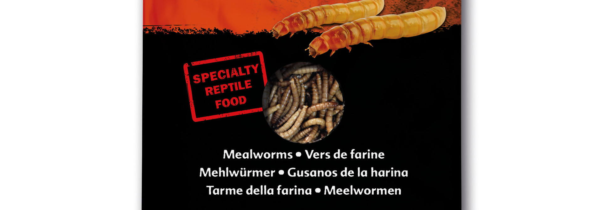 EX Reptile Food, Mealworms ,15g