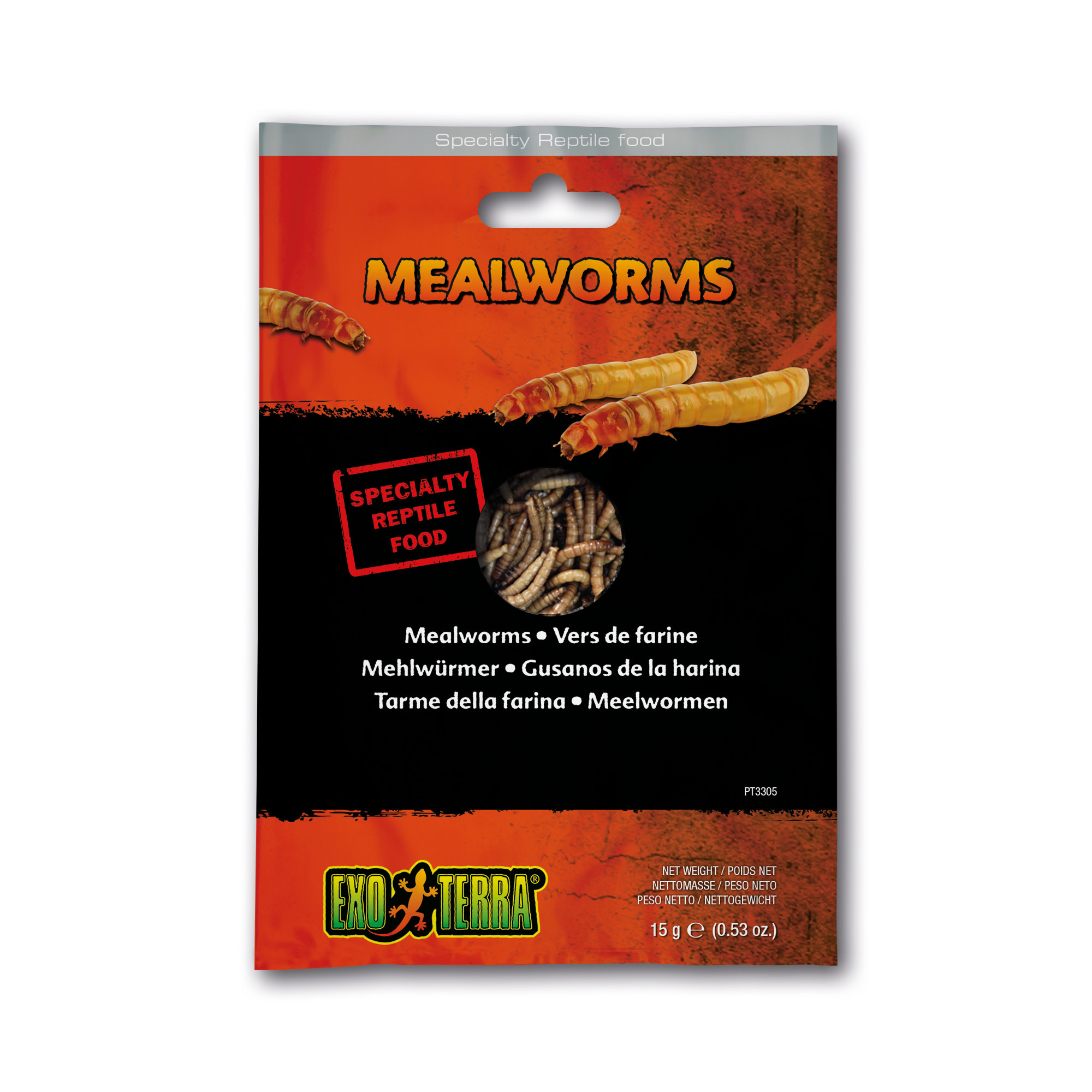EX Reptile Food, Mealworms ,15g-1