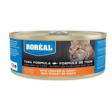Boreal Tuna with Chicken in Gravy 156gr-1
