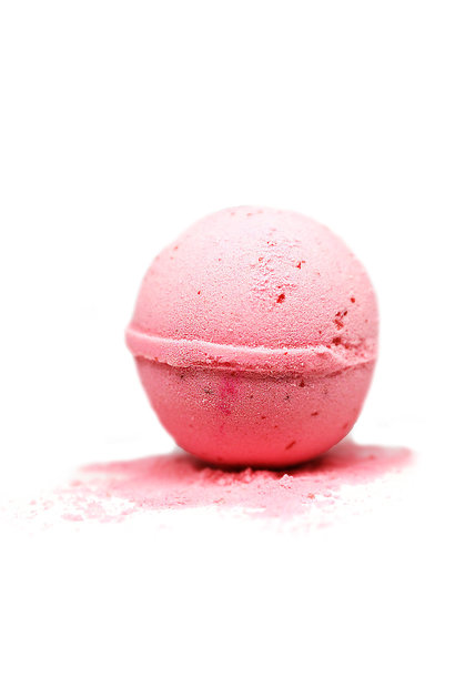 Bath Bomb Pink Grapefruit