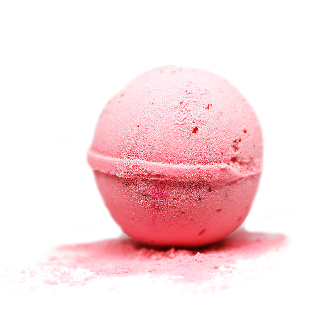 Bath Bomb Pink Grapefruit-1