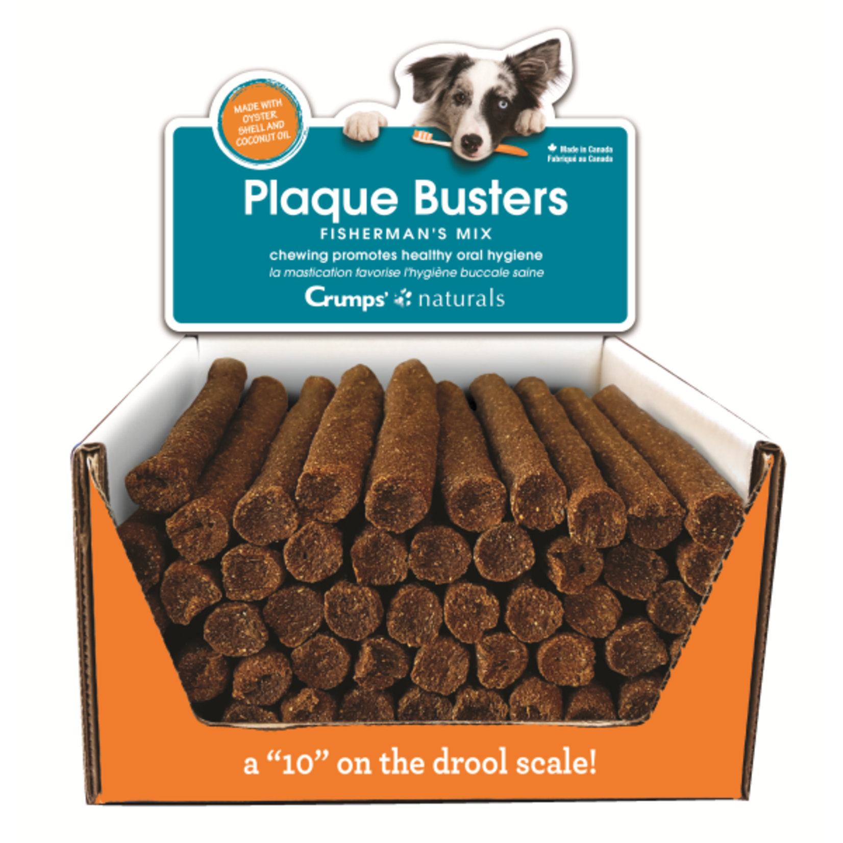 Crumps Plaque Busters-Dog- Fisherman's