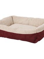 Aspen Pet Self Warming Lounger Red 30x24