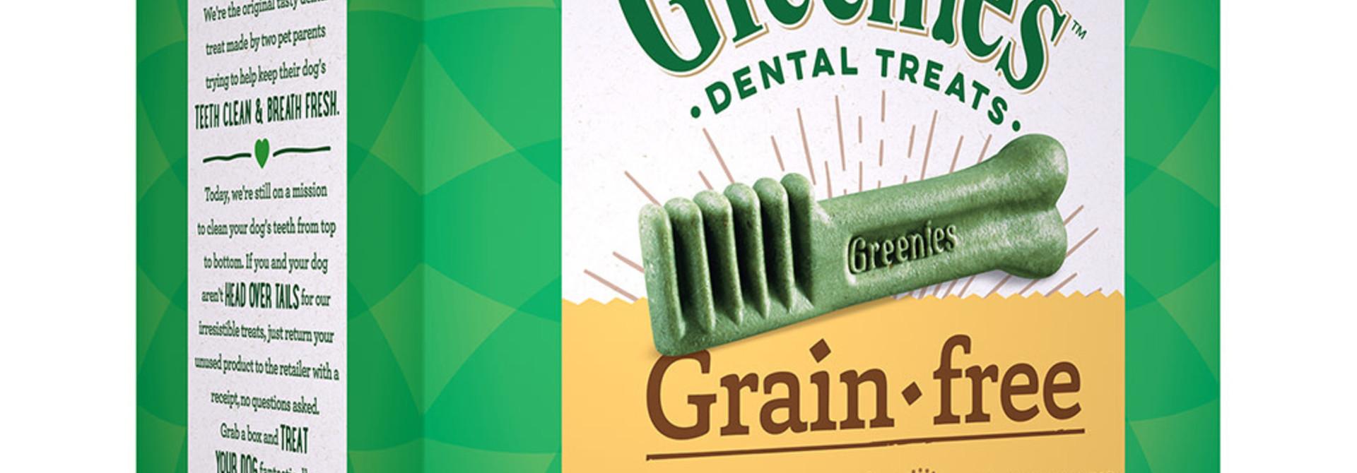 Greenies Grain Free Tub Pack 17/Large 27OZ