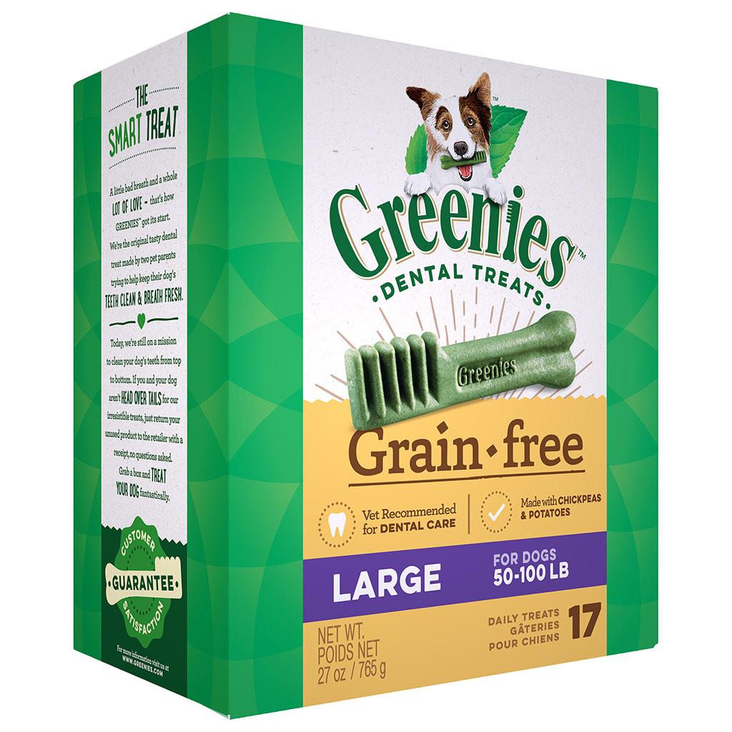 Greenies Grain Free Tub Pack 17/Large 27OZ-1