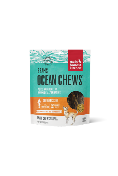 Ocean Chews-Cod Fish Skins 2.75oz
