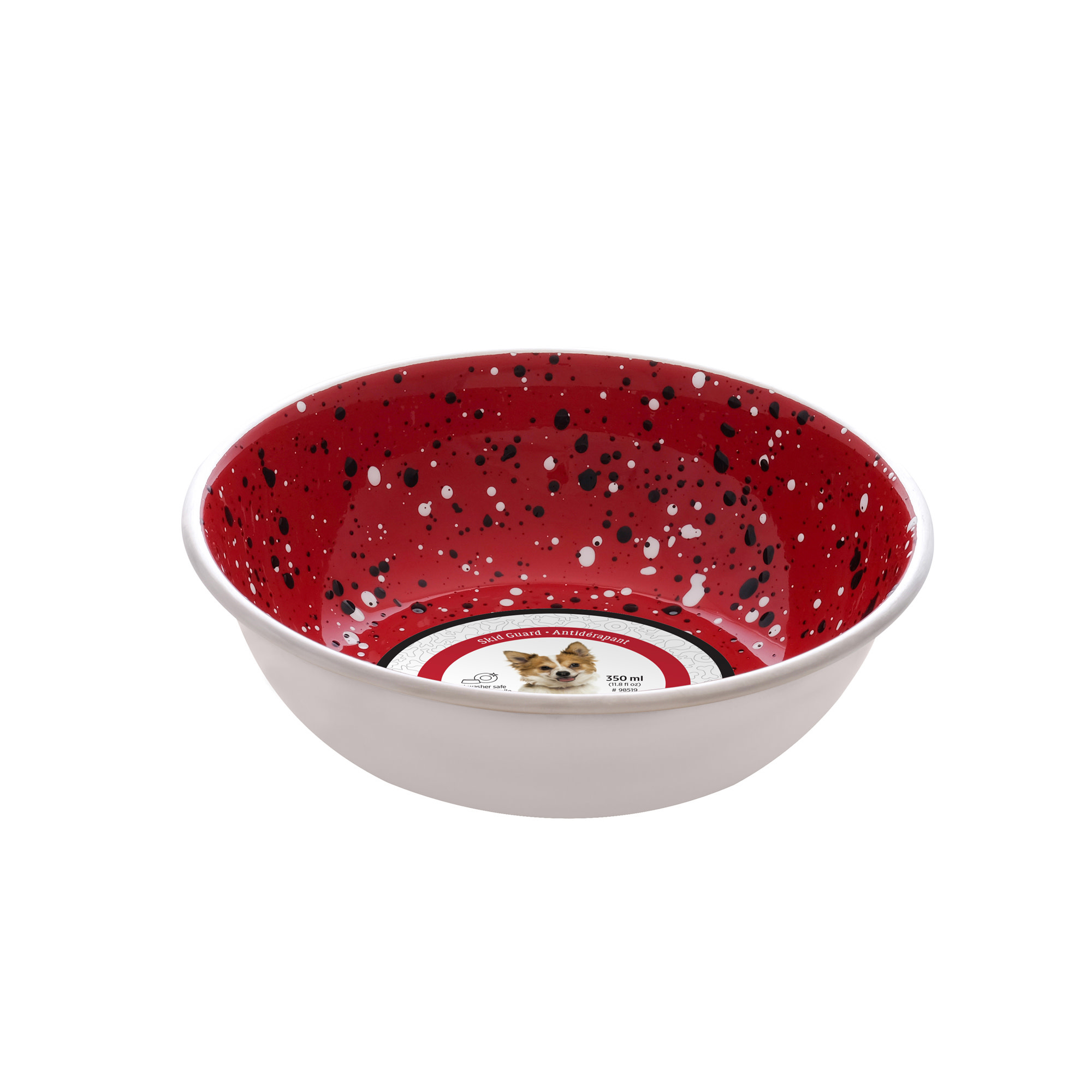 DO SS Bowl,Fashion Design,Red,350ml-1