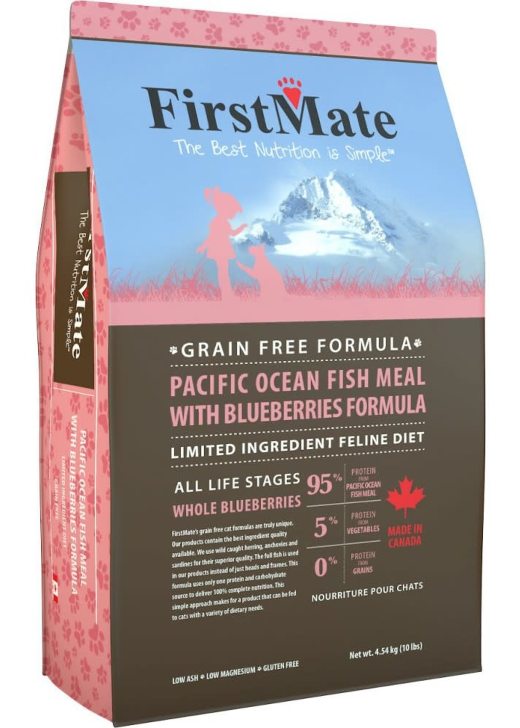 First Mate GF Pacific Ocean Fish & Blueberries