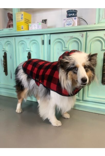 Doggie-Q Red Lumberjacket