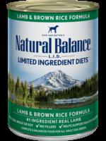 Natural Balance Lamb & Brown Rice 13OZ