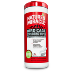 Nature's Miracle Bird Cage Scrubbing Wipes 30 ct