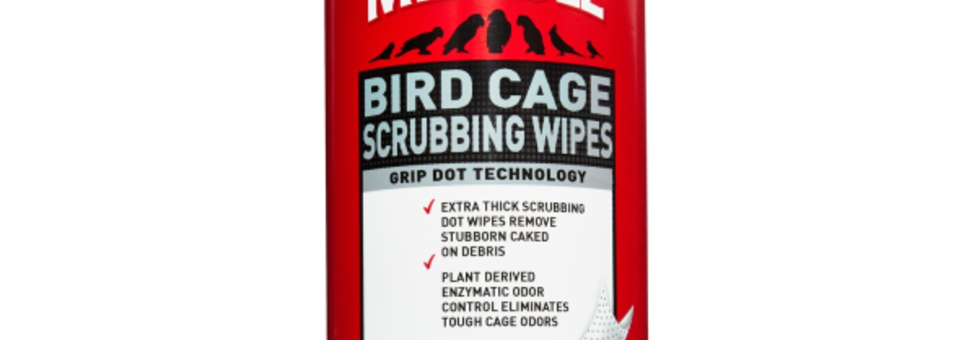 Bird Cage Scrubbing Wipes 30 ct