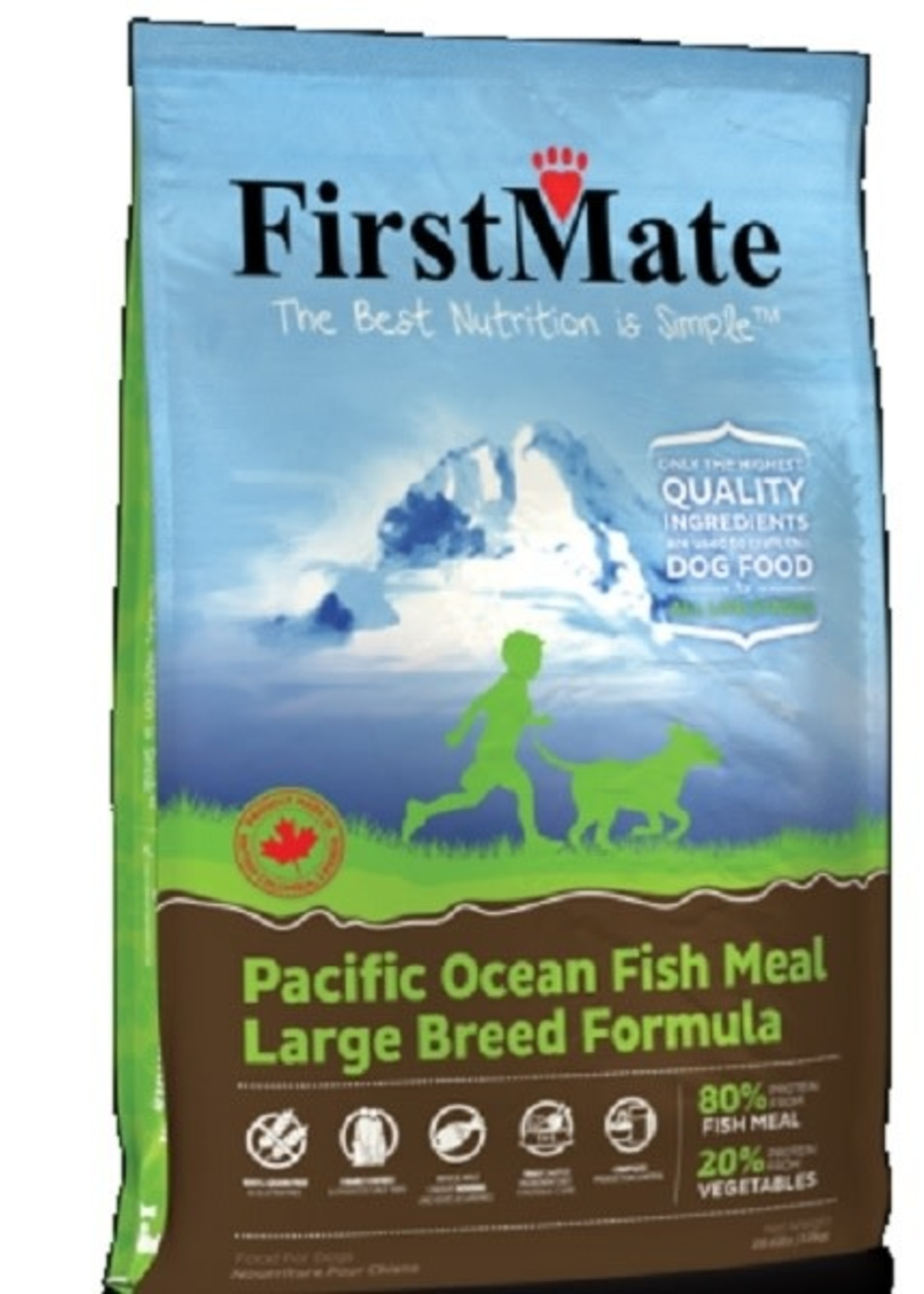 First Mate Pacific Ocean Fish Large Breed Adult GF