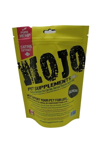 Mojo Supplements Salmon w/ Hemp Sativa Oil