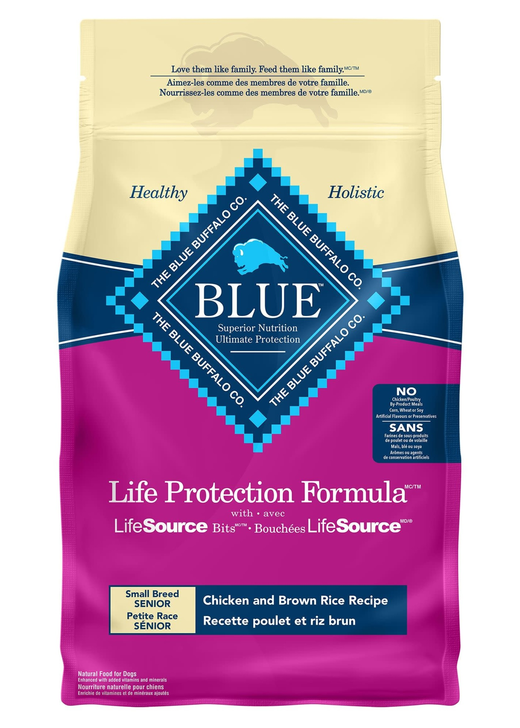 Blue Buffalo Blue Small Breed Adult - Chicken & Brown Rice