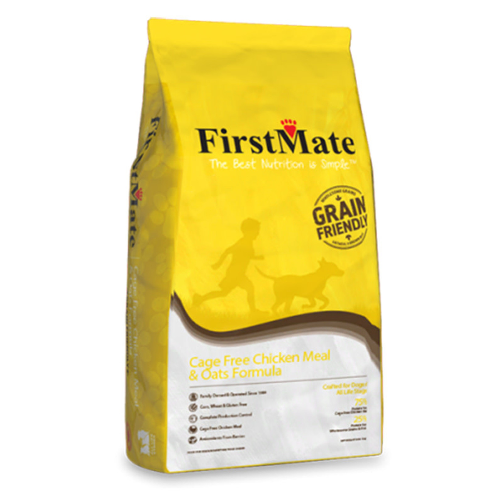 First Mate FM Cage Free Chicken & Oats