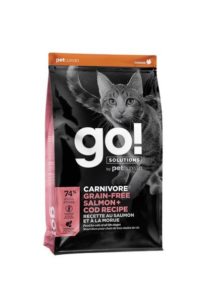 GO! Carnivore Salmon & Cod 8LB / Cat