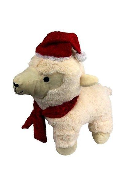 Plush Xmas Lamb 14in