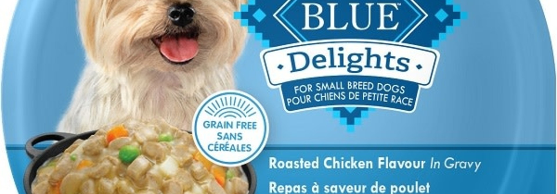 BLUE DELIGHTS SmBreed Rotisserie Ckn 3.5oz