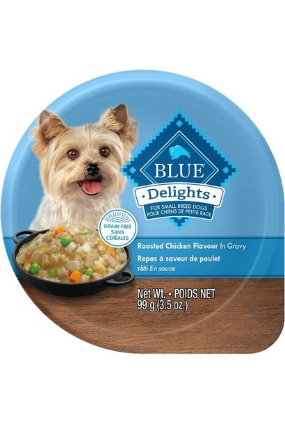 BLUE DELIGHTS SmBreed Rotisserie Ckn 3.5oz