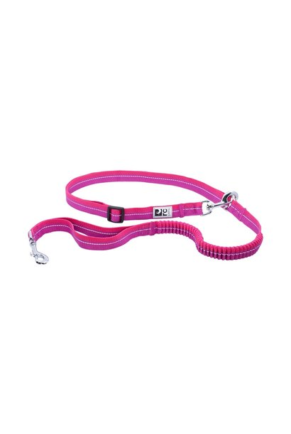 Bungee Active Leash Mulberry/Azalea