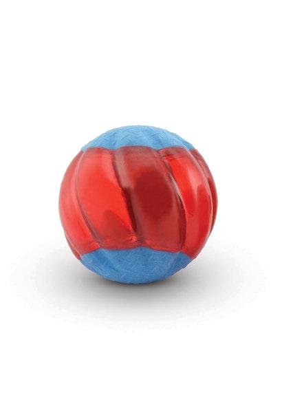 Duo Ball 6.3cm w/ Squeaker- 2pk