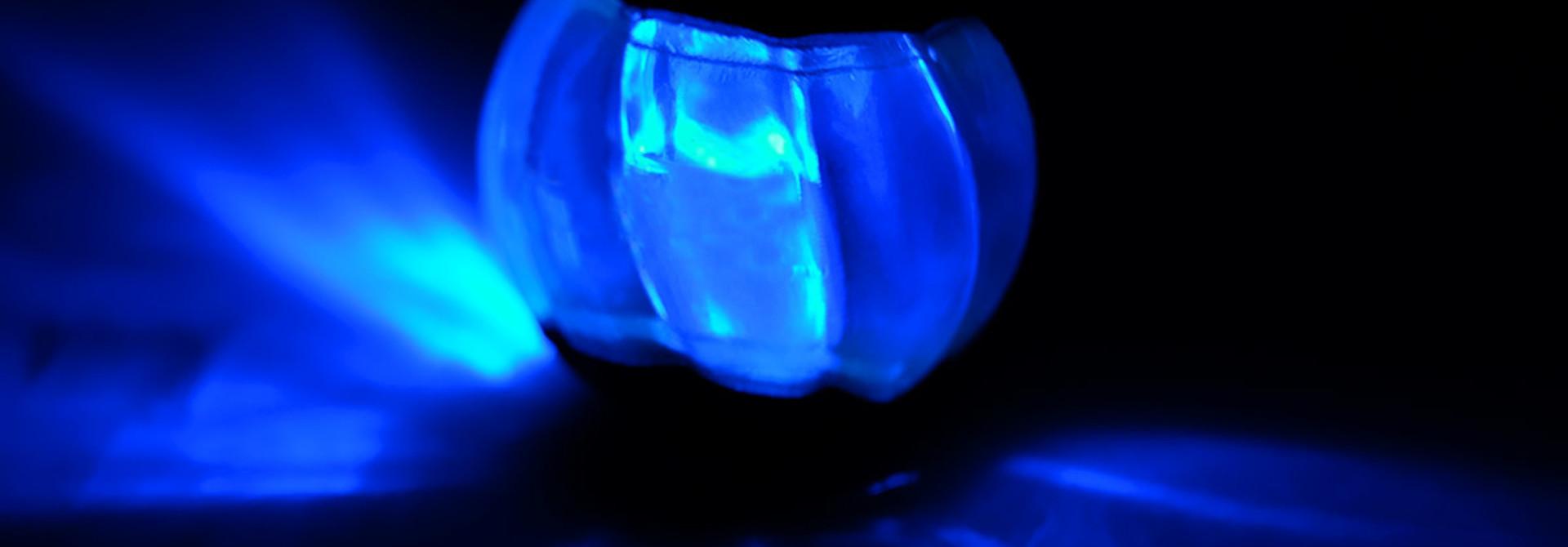 Duo Ball 6.3cm w/ LED- 2pk