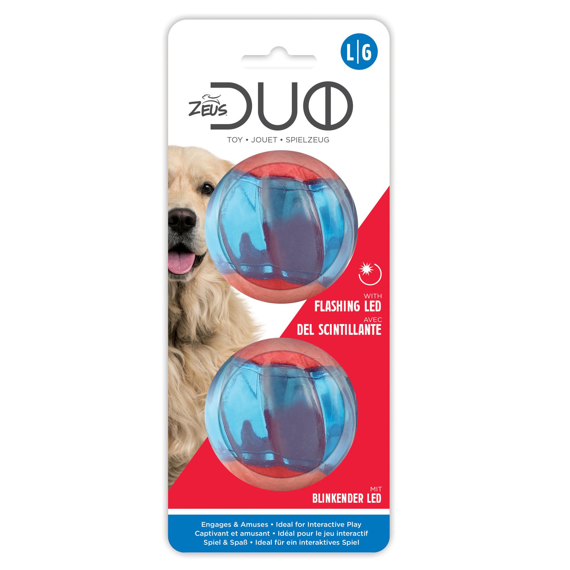 Duo Ball 6.3cm w/ LED- 2pk-2
