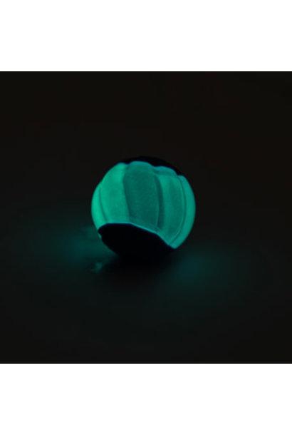 Duo Ball 6.3cm w/ squeaker & Glow - 2pk