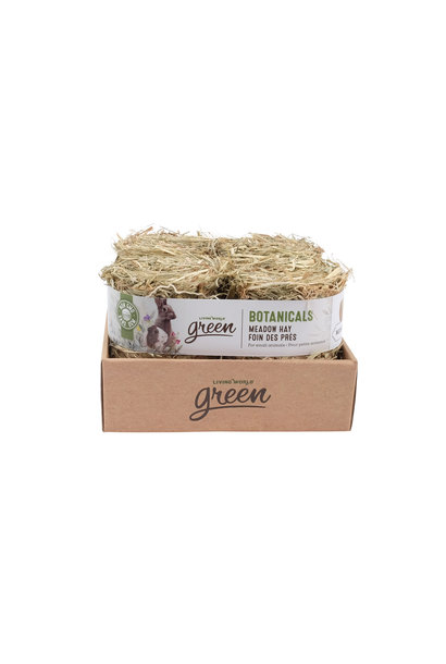Meadow Hay Bale - Natural - 4 pack - 150 g each