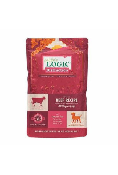 Distinction Dog Food - Beef - 24lb