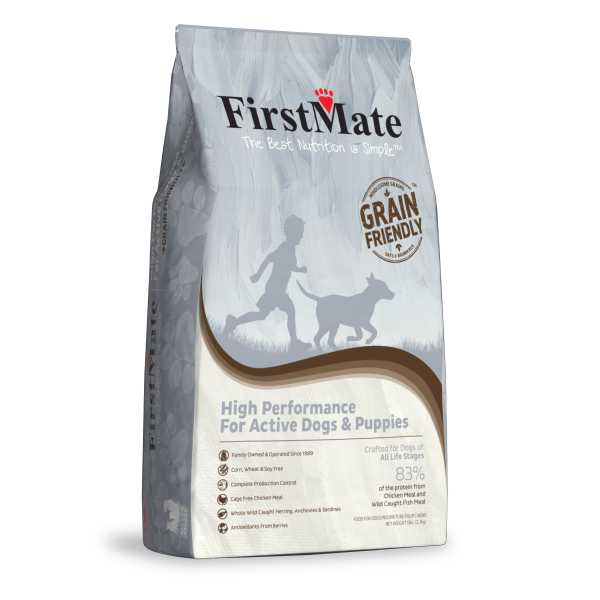 Grain Free High Performance Dog -5lb-1